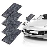 Nano Car Scratch Remover, CAMTOA Repairing Car Scratches Cloth, Multipurpose Car Cleaning Paint, Nano Magic Surface Polishing, Repairing Light Scratches [4 Pack]