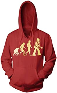 Robot Evolution Hooded Sweatshirt Hoodie