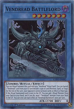 Vendread Battlelord - EXFO-EN082 - Super Rare - 1st Edition - Extreme Force (1st Edition)