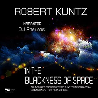 In the Blackness of Space audiobook cover art