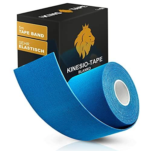 THE KINGTAPE Kinesiotapes (5cmx5m) angenehmer Tragekomfort | starke Beanspruchung | empfindliche Haut | elastisch & wasserfest - Kinesiologie-Tape | Physio-Tape | Boobstape | Tape für Sport & Fitness