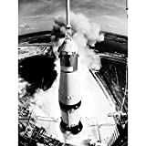 Wee Blue Coo Space Rocket Launch Saturn V Apollo 11 View
