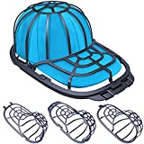 Hat Washer for Baseball Caps Washer for Washing Machine or Dishwasher, Cap Washer Frame/Washing Cage, Hat Shapers/Cleaning Protector Racks, 2 Sizes Fit for Adult and Child's Cap