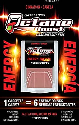 Octane Boost Energy Strips Cinnamon x 10 Pack