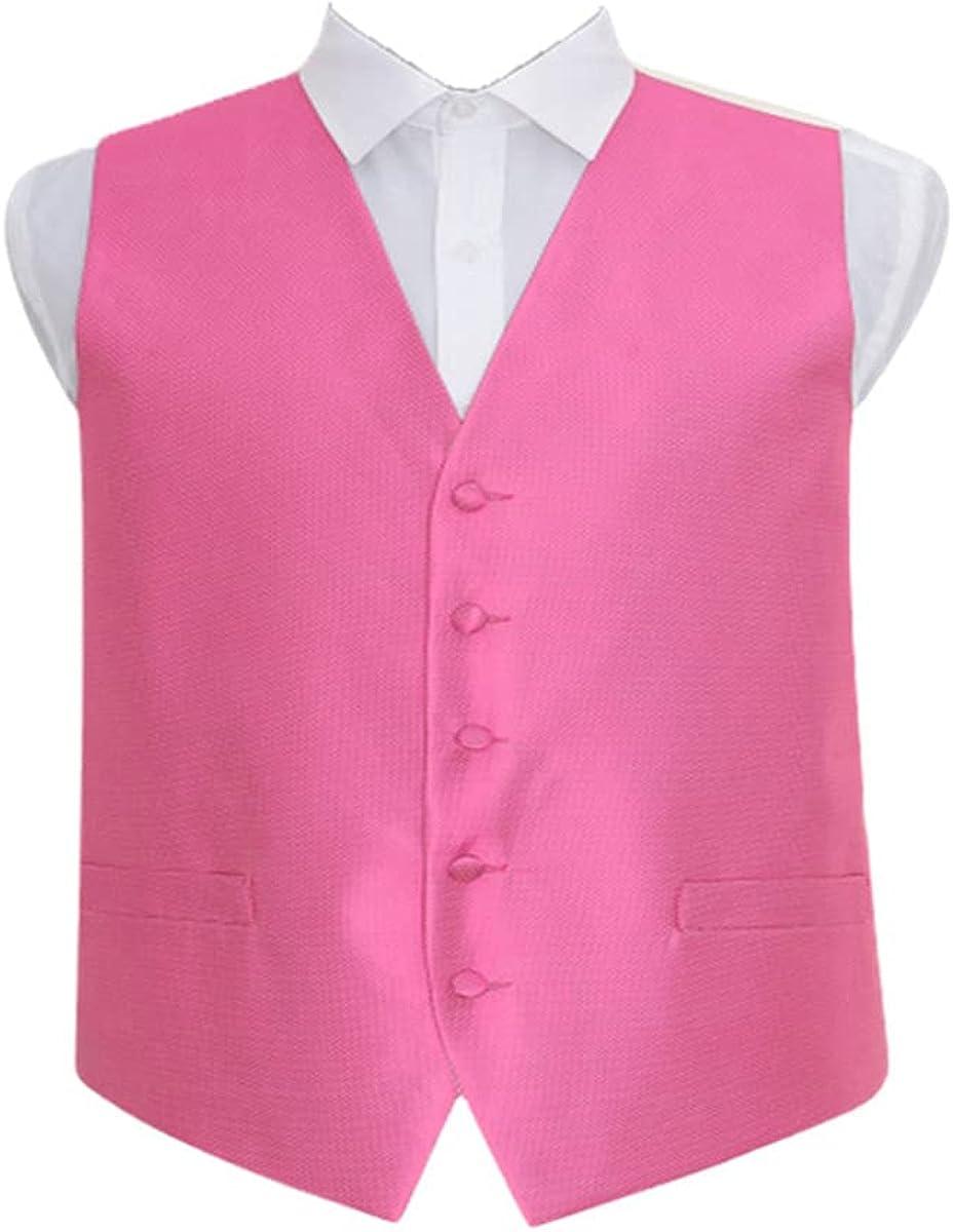 Men's Slim Vest Vest Formal Business Wedding Pink Vest
