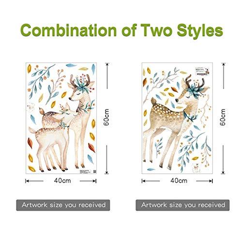 FICI Mode Slaapkamer Muurdecoratiestickers voor kinderkamers Deurstickers Home Woonkamer Decoratie Accessoires, M
