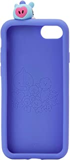 BT21 Official Merchandise by Line Friends - MANG Character Silicone Case Compatible for iPhone 8 Plus