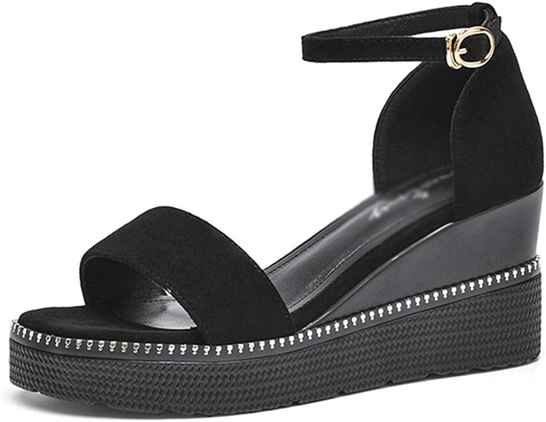 Ljf Ljf Ljf Frauen High Heels Frauen Wedge Sandals Wedge Sandals Weibliche Plattform-Tasche mit Damenschuhe Strand Sandalen Frauen e5a
