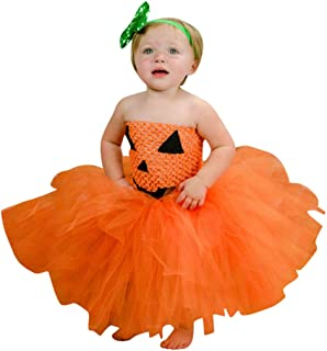 Baby Girl Halloween Cute Dress, Kid Toddler Infant Cosplay Party Dress Princess Dress