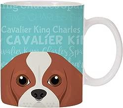 Adorable Dog Breed Specific 11oz Ceramic Coffee Mug (Cavalier King Charles Spaniel)