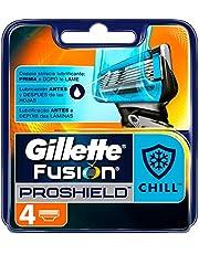Gillette Fusion Proshield Chill męskie ostrza do golenia, 4 wymienne ostrza