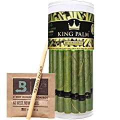 Convenient | Can't roll? No problem. These come pre-rolled for your convenience. No need to split, lick, or roll ever again. Seriously, just pack and enjoy Organic | Made from natural leaf rolls that are individually hand picked and cleaned with puri...