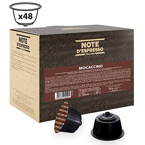 Note D'Espresso Mochaccino Instantkapseln, ausschließlich Kompatibel mit Nescafé* und Dolce Gusto* Kapselmaschinen 9g x 48 Kapseln