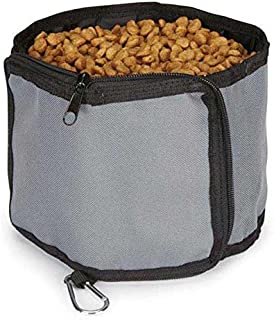 Guardian Gear Outing Travel Bowl for Pets, Khaki
