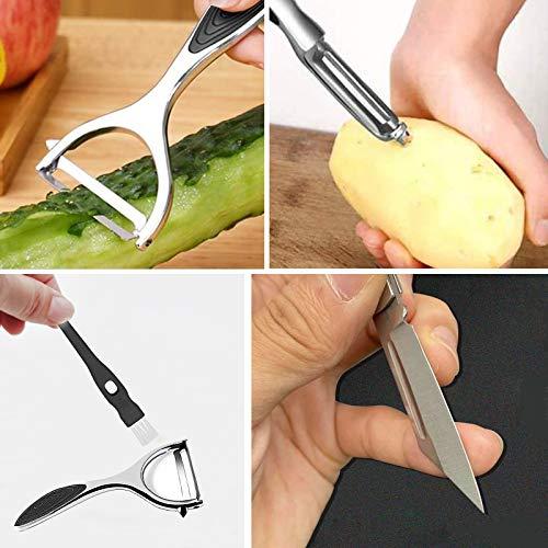 Vegetable Peeler, Potato Vegetable Peeler For Kitchen with Ergonomic Non-Slip Handle Good Grip