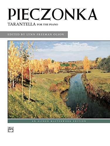 Tarantella: Intermediate Piano Solo (Alfred Masterwork Edition) (English Edition)