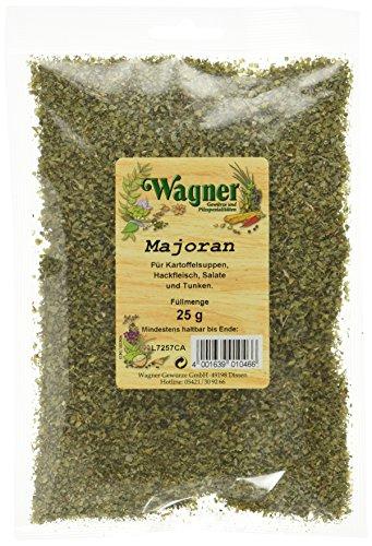 Wagner Gewürze Majoran gerebelt, 4er Pack (4 x 25 g)
