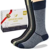 Specialized Socks Diabetic Socks for Men - Premium Quality - Fashion Designed, Soft and Extremely Comfortable -'These are Great Non Binding Socks''sooo Comfortable'.