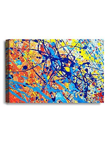 IPIC - Abstract Jackson Pollock Style Artwork. Giclee Print ...