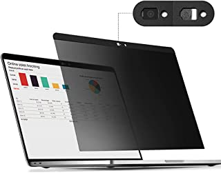 Removable Magnetic Attachment Privacy Screen Filter [Webcam Cover] Free Anti-Glare Screen Protector + TPU Keyboard Cover f...