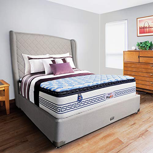 Springfit Pro Activ Flow Orthopedic Memory Foam Medium Soft Pocket Spring Hotel Comfort Bed Mattresses 8 Inch- Single Size Bed (72x36x8 Inch, Memory Foam Mattress)