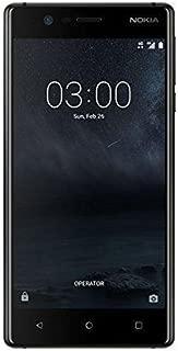 Nokia 3 Dual Sim - 16GB, 2GB RAM, 4G LTE, Matte Black
