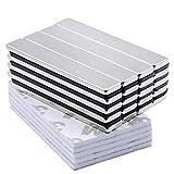 LOVIMAG 20PCS Powerful Neodymium Bar Magnets, Rare-Earth Metal Neodymium Magnet - 60 x 10 x 3 mm, Pack of 20