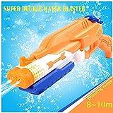Addmos Pistola ad Acqua Fino a 10 m di Distanza Super Water Pistol Soaker 1.2L Serbatoio D...