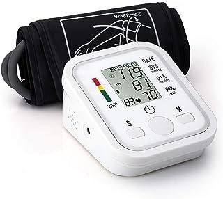 Rabbfay Casa Monitor electrónico de presión Arterial, 99 Juegos de Memoria para Dos Personas Completamente automatico Muñeca de Viaje Esfigmomanómetro con Altavoz de Voz