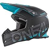 O'NEAL 5 Series Blocker Motocross Enduro MTB Helm schwarz/türkis 2018 Oneal: Größe: L (59-60cm)