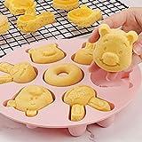 N#A Molde para Pasteles, Molde para Pasteles Hecho a Mano para Hornear, para Huevos de panqueques(Pink)