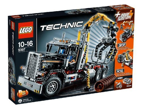 Lego Technic 9397 Logging Truck by LEGO
