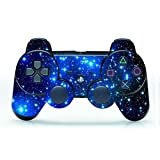 UUShop Starry Sky Vinyl Skin Decal Cover Wrap for Playstation 3 PS3 Controller
