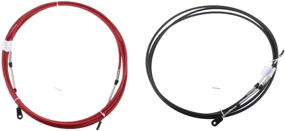 Quality inspection gazechimp 2pcs Throttle Line Clutch Cable Yamaha Wire Financial sales sale Outboa for