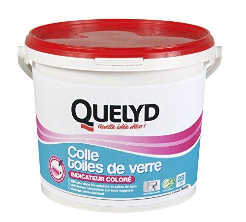 Quelyd Colle toile de Verre Rose - Seau de 5 kg