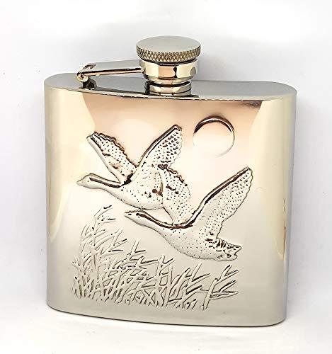 di STARWINGS fiaschetta Borraccia Whisky Inox da Tasca Porta liquore Tascabile Vintage Caccia