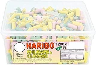 Hairbo Rhubarb Custard - 1200g - Approx 600 Pieces