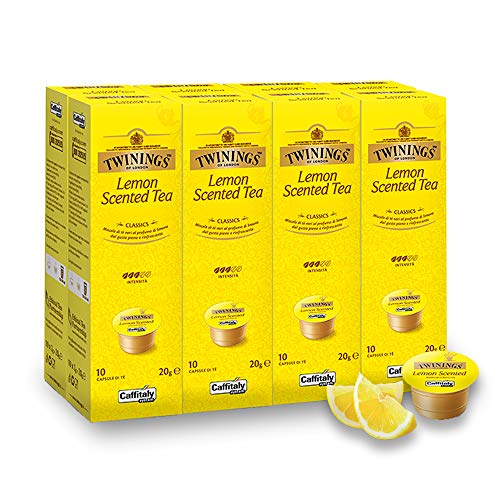 Twinings Lemon Scented Teekapseln für Tchibo® Cafissimo® Caffitaly® K-Fee® Teekanne® 80 Kapseln