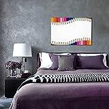 NINEHASA Cuadros Decorativos-Set de lápices de colores multicolor -Decoración Colgante para Paredes de Sala,Dormitorios y Cocina-Arte Mural 30x45cm