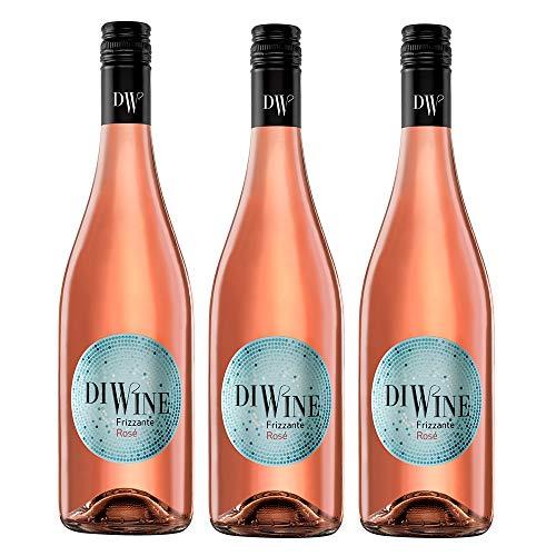 Diwine Rosado Vino Espumoso Caja WEB de 3 Botellas 75 cl