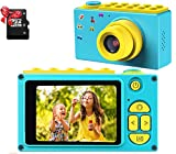 DigitCont Kid Camera, Digital Camera for Kids, 1080P FHD Kids Camera 2 Inch IPS Screen Compatible Selfie Support 32GB SD Card Best Gift for Boys Girls Truck