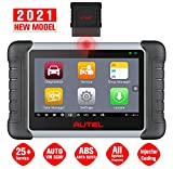 Autel MaxiCOM MK808BT Diagnostic Scan Tool, 2021 Newest Upgraded Ver. Of MK808, MX808, 25 Services & All Systems Diagnostics, Injector Coding, Key Coding, ABS Bleed, Oil Reset, EPB, SAS, DPF, BMS