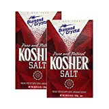 Diamond Crystal Kosher Salt, 3 lbs (Pack of 2)