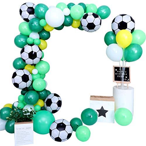 CozofLuv Geburtstagsdeko, Kindergeburtstag Deko Set 121 Stück Dekoration Zubehör Hochzeit Ballon Dekoration (#4)