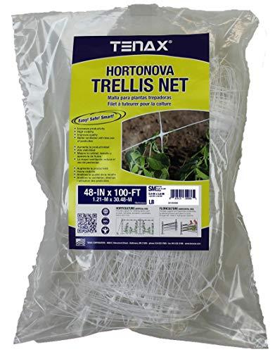 Tenax 100522968 084065 Hortonova Sm Plant Trellis Net 4#039 X 100#039 White