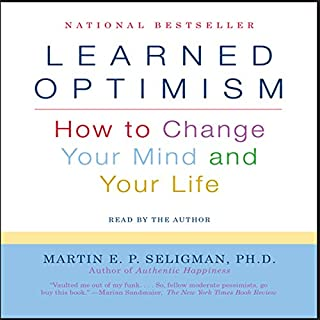 Learned Optimism audiobook cover art