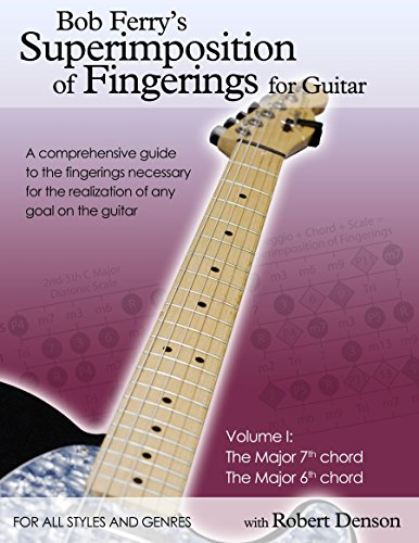 Bob Ferrys Superimposition of Fingerings for Guitar with Robert Denson: Volume I: The Major 7th Chord The Major 6th Chord (English Edition)