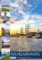 Wilhelmshaven Impressionen (Wandkalender 2022 DIN A2 hoch): Stimmungsvolle Bilder aus Wilhelmshaven (Monatskalender, 14 Seiten )