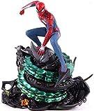 Modelo de dibujos animados PS4 Spider-Man Edición Coleccionista Spiderman Figura de Acción Estatua de PVC Modelo coleccionable Juguete