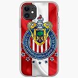 Futbol Herd Sacred Soccer Mexico Guadalajara Chivas Pure Clear Cajas del Teléfono iPhone 12/11 Pro MAX 12 Mini SE X/XS MAX XR 8 7 6 6s Plus Funda